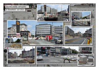 """""""Klimafreundliche Mobilität"""" Ein Projekt aus dem EU-Förderprogramm """"Emissionsfreie Innenstadt"""" - Juli 2020 bis ca. Juni 2022. Sogar Fußgänger habens schwer...Foto: info(at)kersten-hj(dot)de"""
