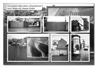 Altmetall mit Werbung und AJZ Heeper Str. Foto: info(at)kersten-hj(dot)de