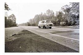die Autobahn damals...nach BERLIN