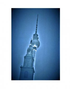 Berlin 75/76, Kirche und Turm am Alex