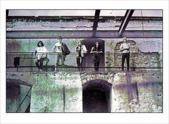 Bandfoto im VHS-Gelände Bielefeld
